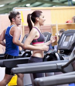 working-out-on-treadmill